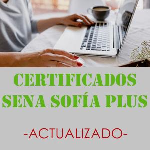 Certificados Sena Sofia Plus 2 Sena Sofia Plus ▷ Sena Sofía Plus – Actualizado [2020]